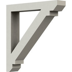 "Decorative Polyurethane Corbels Ekena 2"" W x 13 7/8"" D x 13 7/8"" H Moldings & Millwork Corbels Type 150366751 in Canada"