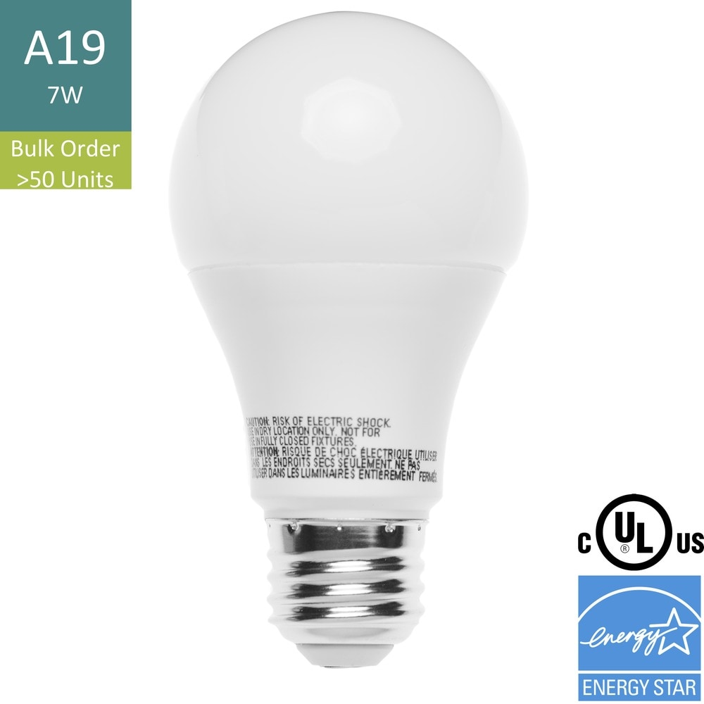 U Save Lighting Renesola Collection A19 Bulb Bulk Order 120 7 A19 Bulb Bulk Order E26