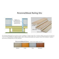 PerennialWood Deck Railing Model 151682521 Deck Railings