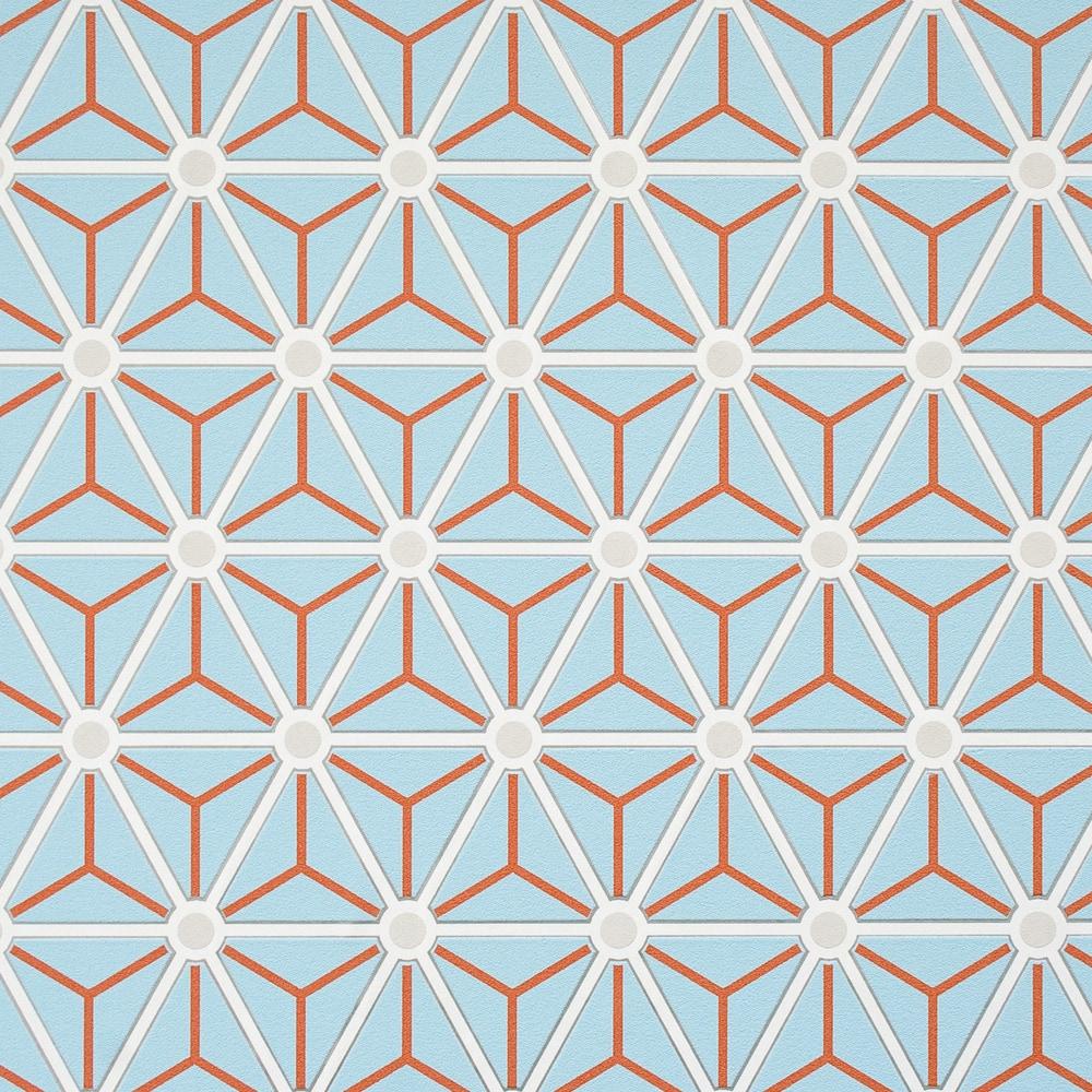 Walls Republic Hexagonal Wallpaper Geometric  Double Roll