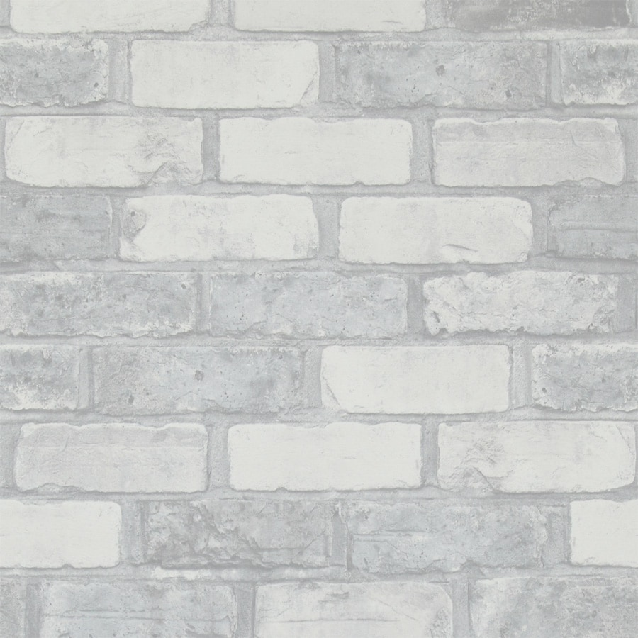Fake Brick Wallpaper: Walls Republic Faux Running Brick Wallpaper Faux Finish