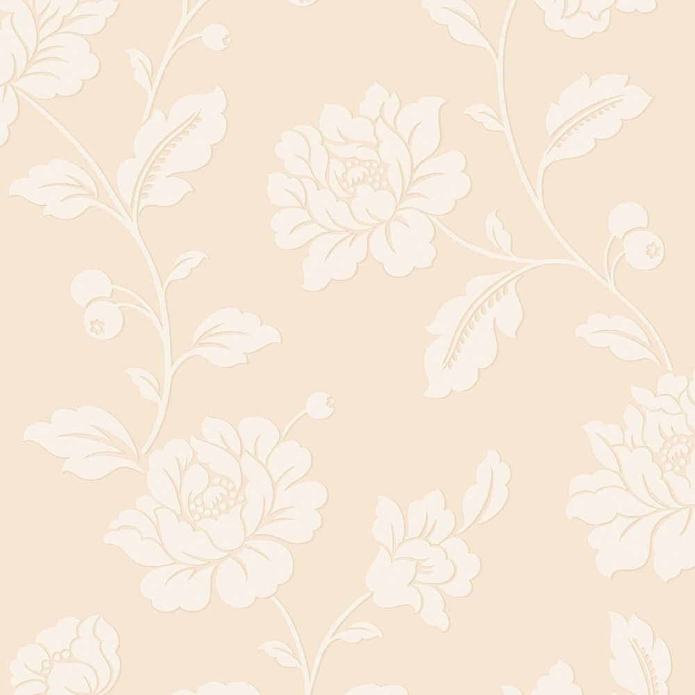 Walls Republic Classic Floral Traditional Metallic Pristine