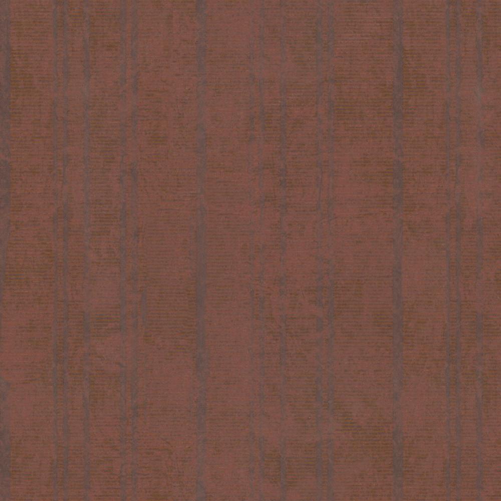 Walls Republic - Rustic Ribbed and Striped Metallic Wallpaper 150669921