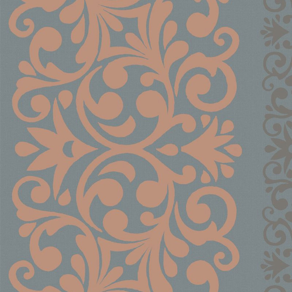 walls republic traditional metallic alternating damask