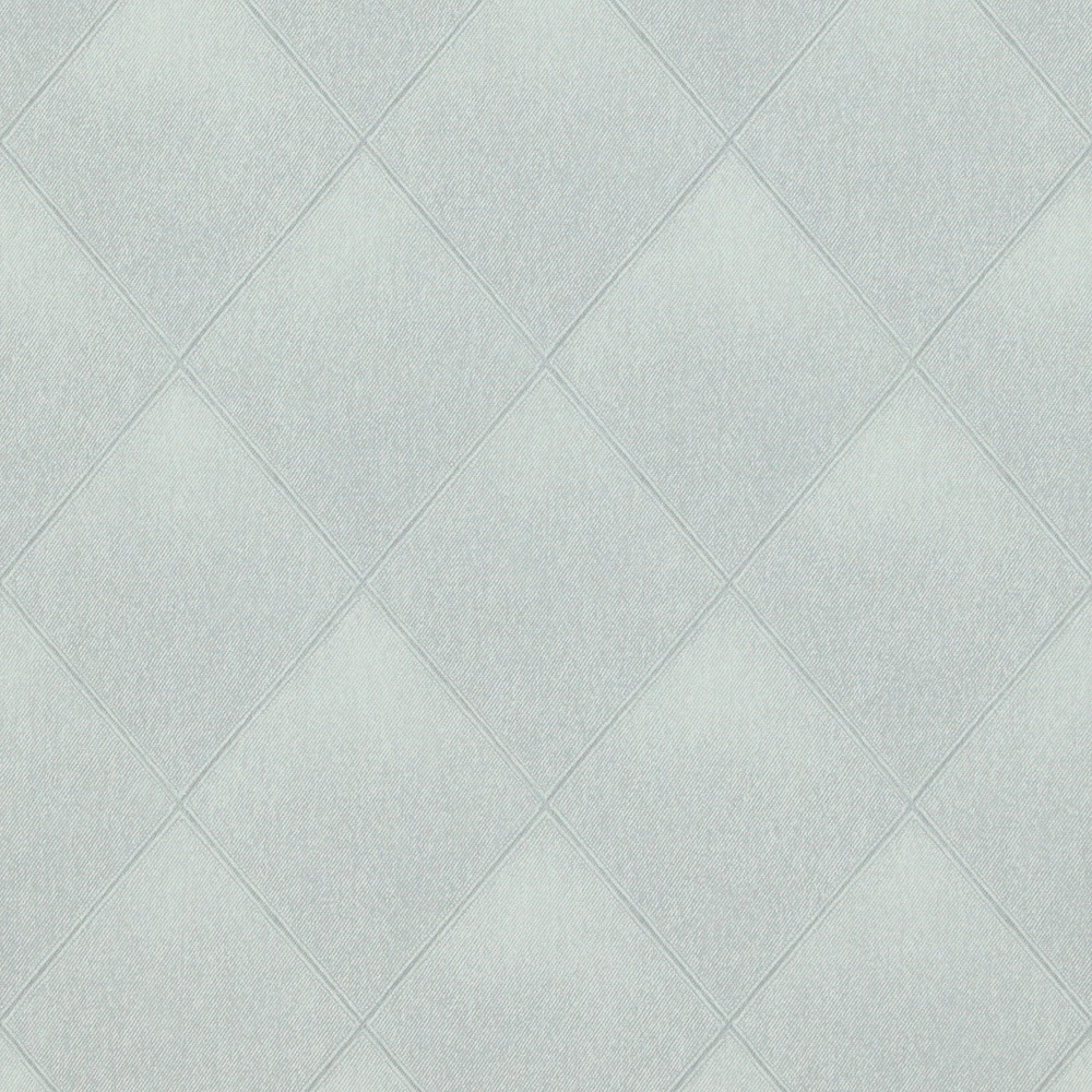 Walls republic modern padded textile wallpaper geometric for Padded wall wallpaper
