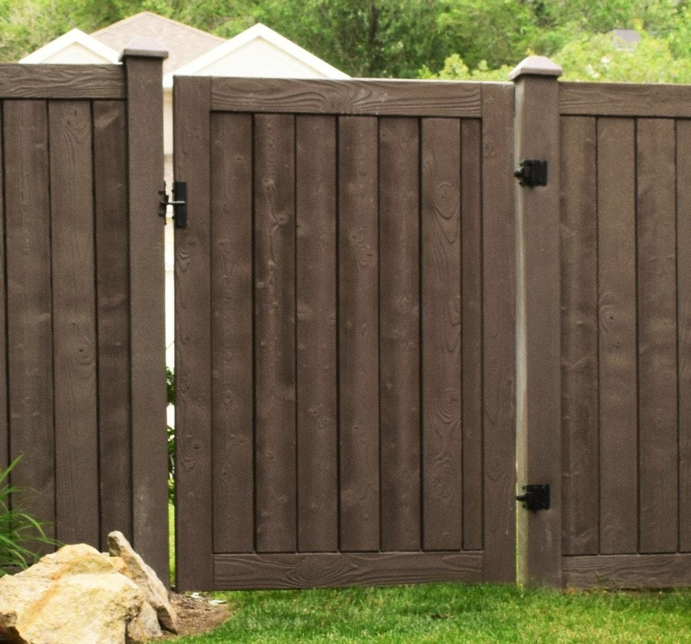 Ashland privacy fence gate tall wide