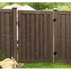 Ashland Privacy Fence Ashland Gate 6' Tall x 3' Wide Privacy Fence Model 151888011 Landscape Fences