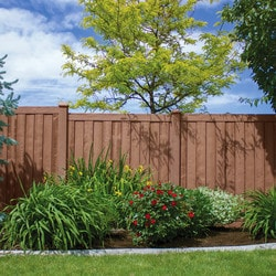 Ashland Privacy Fence Fencing Ashland Privacy Fence Panel Simulated Wood Privacy Fence Model 151887701 Landscape Fences