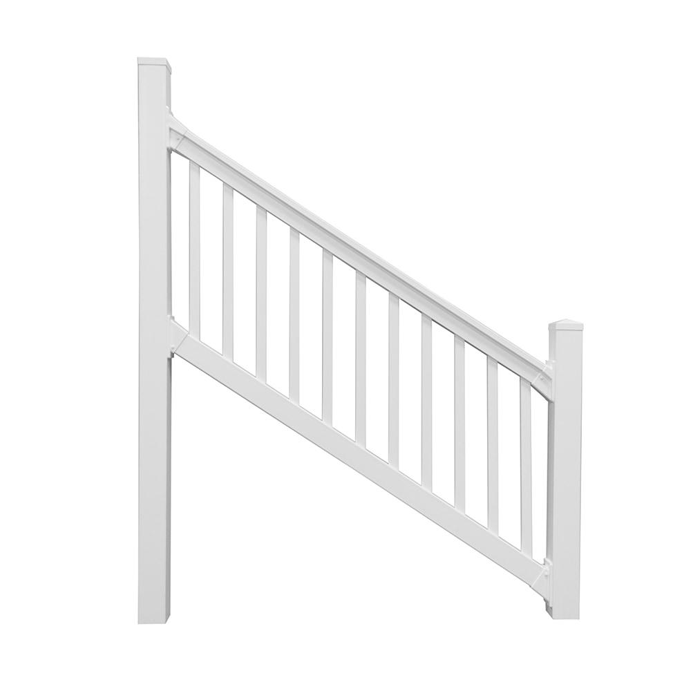 Vinyl Fence Wholesaler Deck Railings White Sefton Stair