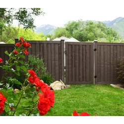 Ashland Privacy Fence Fencing Ashland Privacy Fence Panel Simulated Wood Privacy Fence Model 151887691 Landscape Fences