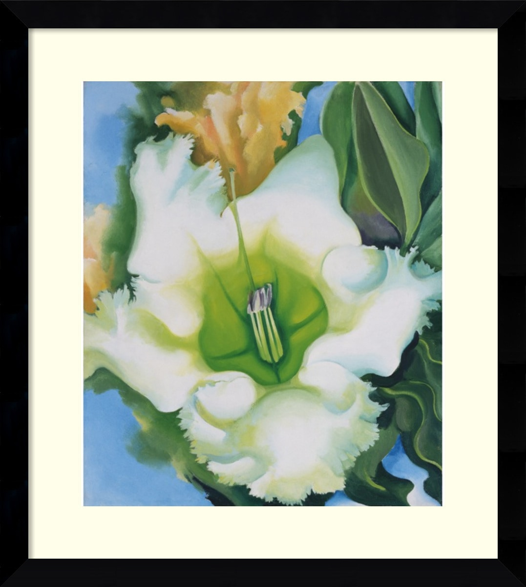 Amanti Art - Georgia O'Keeffe 'Cup of Silver Ginger  1939' Framed Art Print 30 x 33 150532971