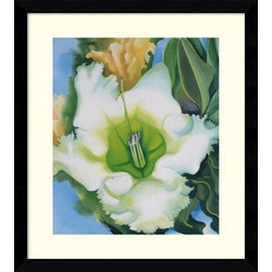 Amanti Art - Georgia O'Keeffe 'Cup of Silver Ginger, 1939' Framed Art Print 30 x 33