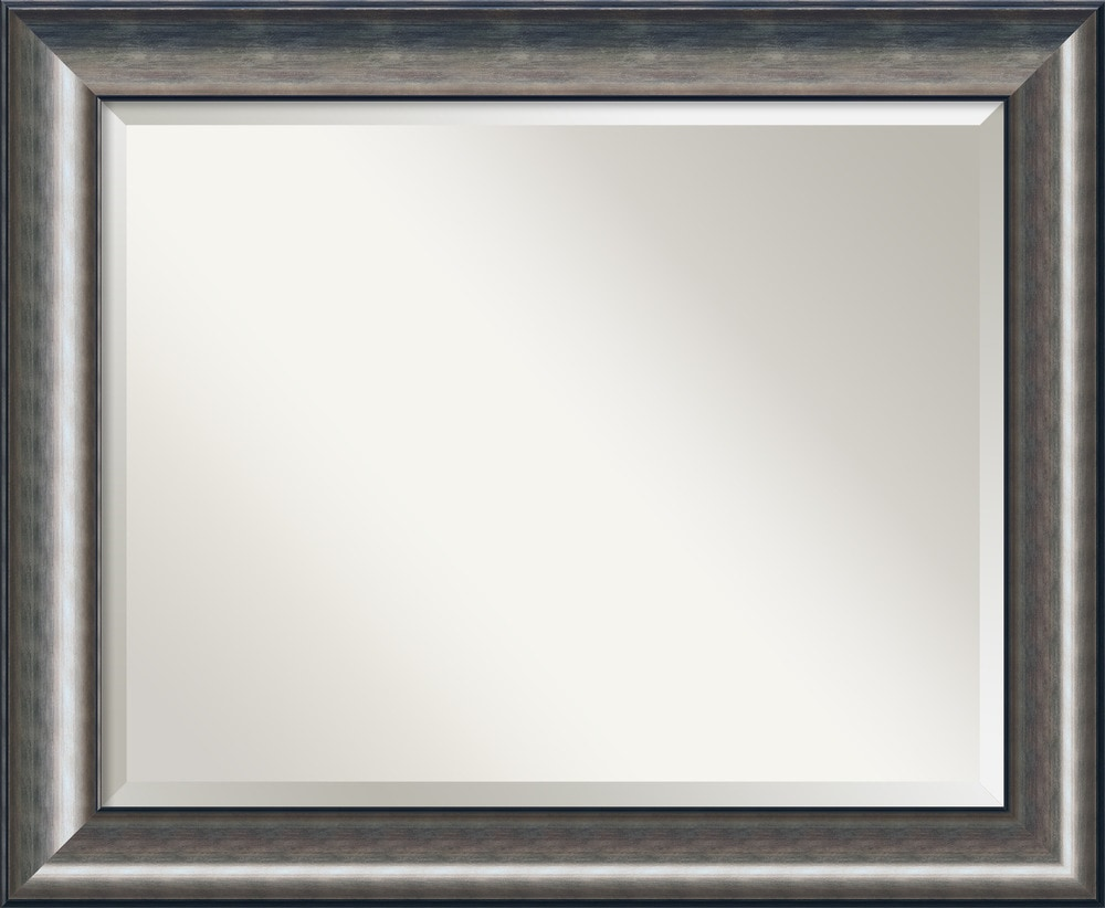 Amanti art quicksilver wall mirror large 34 x 28 inch for Mirror 34 productions