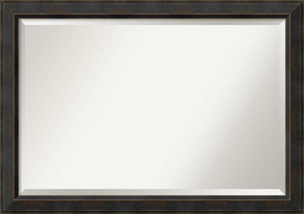 Amanti art signore bronze wall mirror extra large 40 x for Large framed mirrors for walls