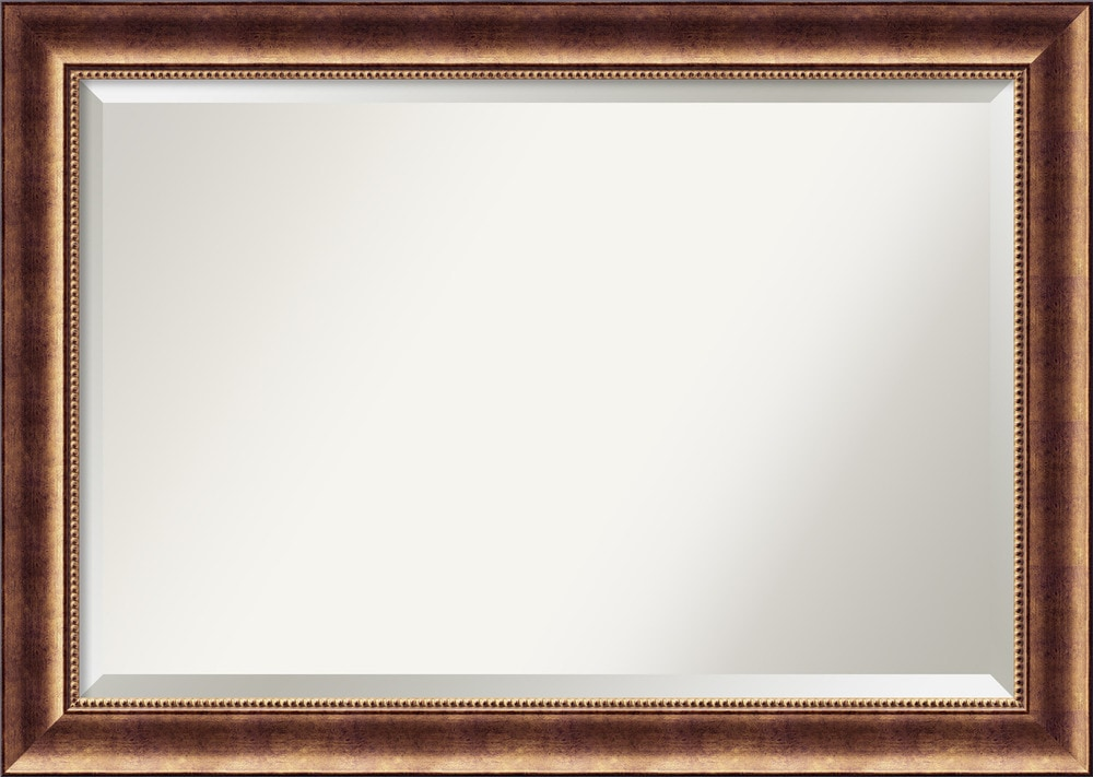 amanti art manhattan bronze wall mirror extra large 42 x. Black Bedroom Furniture Sets. Home Design Ideas