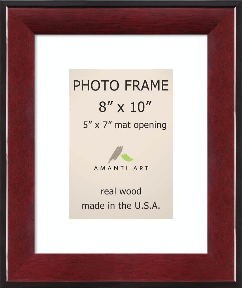 Amanti Art Estate Cherry Picture Frame8x10 Matted To 5x7