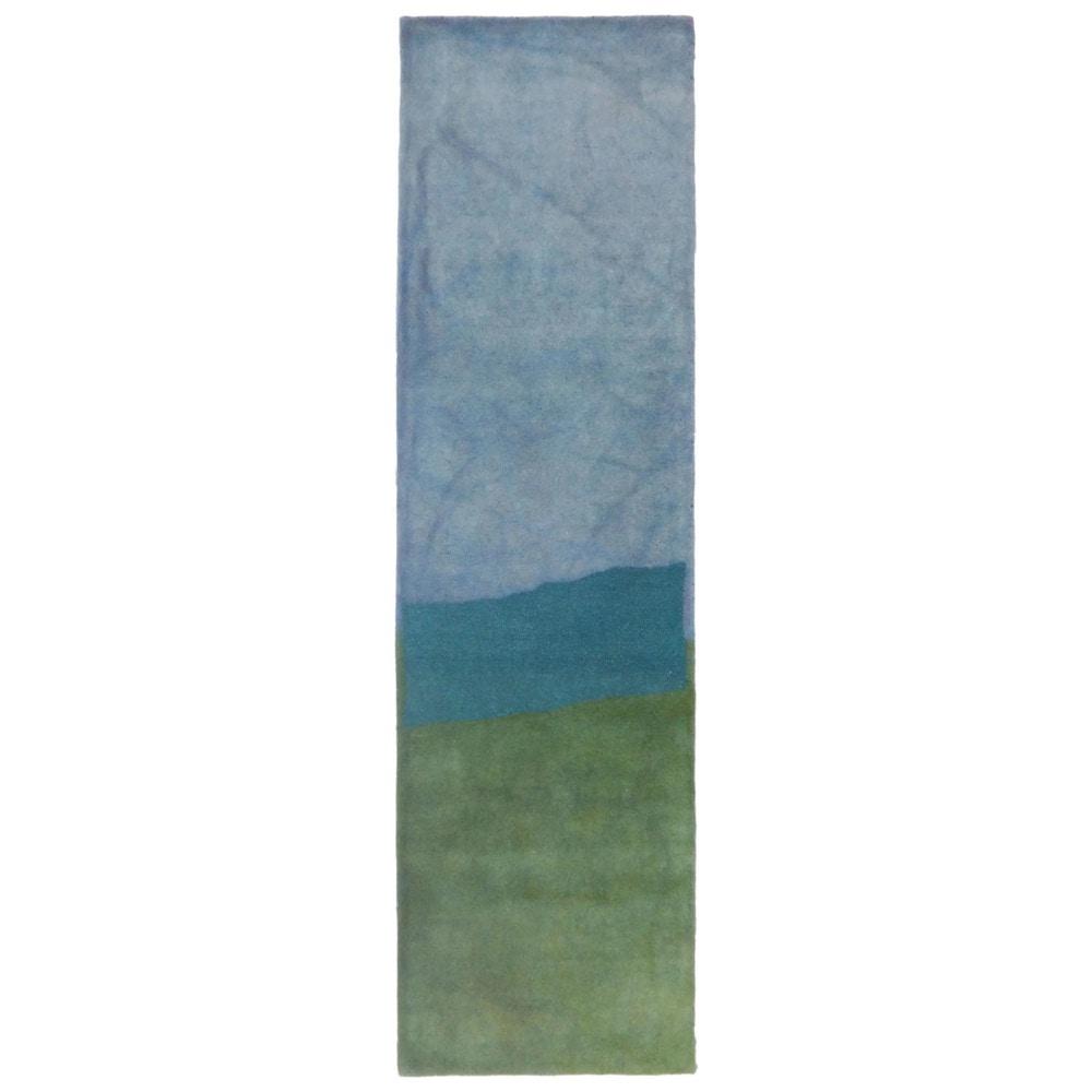 Maneck Piazza Collection 39 Zen 39 Indoor Rug Zen Sea Breeze