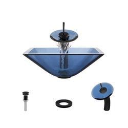 Polaris Sinks Glass Ensemble Type 150958901 Bathroom Sinks in Canada