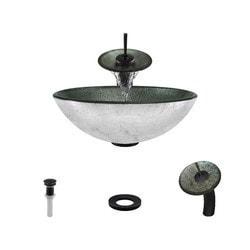 Polaris Sinks Glass Ensemble Model 150959451 Bathroom Sinks