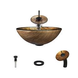 Polaris Sinks Glass Ensemble Type 150959841 Bathroom Sinks in Canada