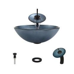 Polaris Sinks Glass Ensemble Model 150959871 Bathroom Sinks