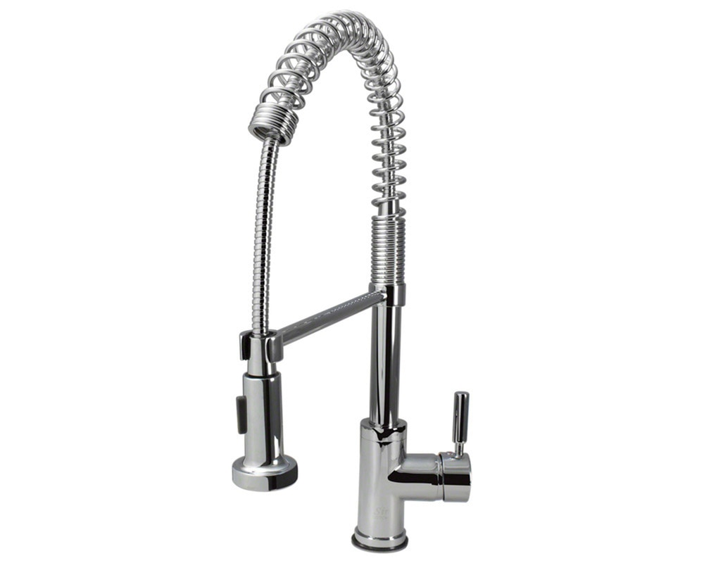 Sir faucet kitchen faucets modern chrome 766 c for Kitchen faucet recommendations