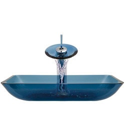 Polaris Sinks Glass Ensemble Model 150960101 Bathroom Sinks