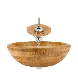 Polaris Sinks Bamboo Ensemble Type 151012061 Bathroom Sinks in Canada