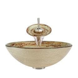 Polaris Sinks Glass Ensemble Model 150959821 Bathroom Sinks