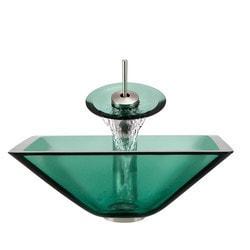 Polaris Sinks Glass Ensemble Model 150959011 Bathroom Sinks