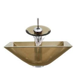 Polaris Sinks Glass Ensemble Model 150959051 Bathroom Sinks