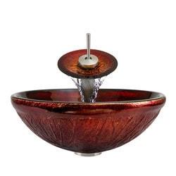 Polaris Sinks Glass Ensemble Model 150959491 Bathroom Sinks