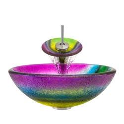 Polaris Sinks Glass Ensemble Type 150959521 Bathroom Sinks in Canada