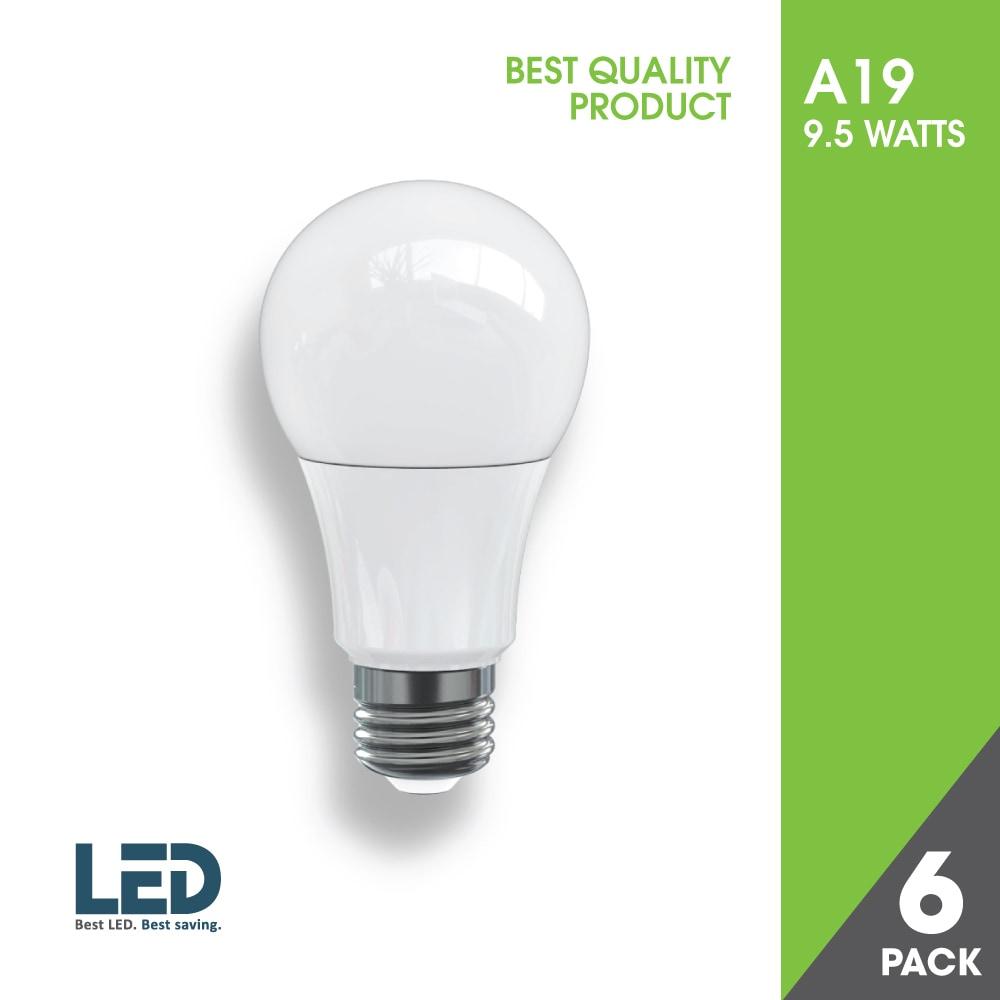 Ecoled A19 9.5 WATTS LED / 120 V / 9.5 W / A19 / E26 ...