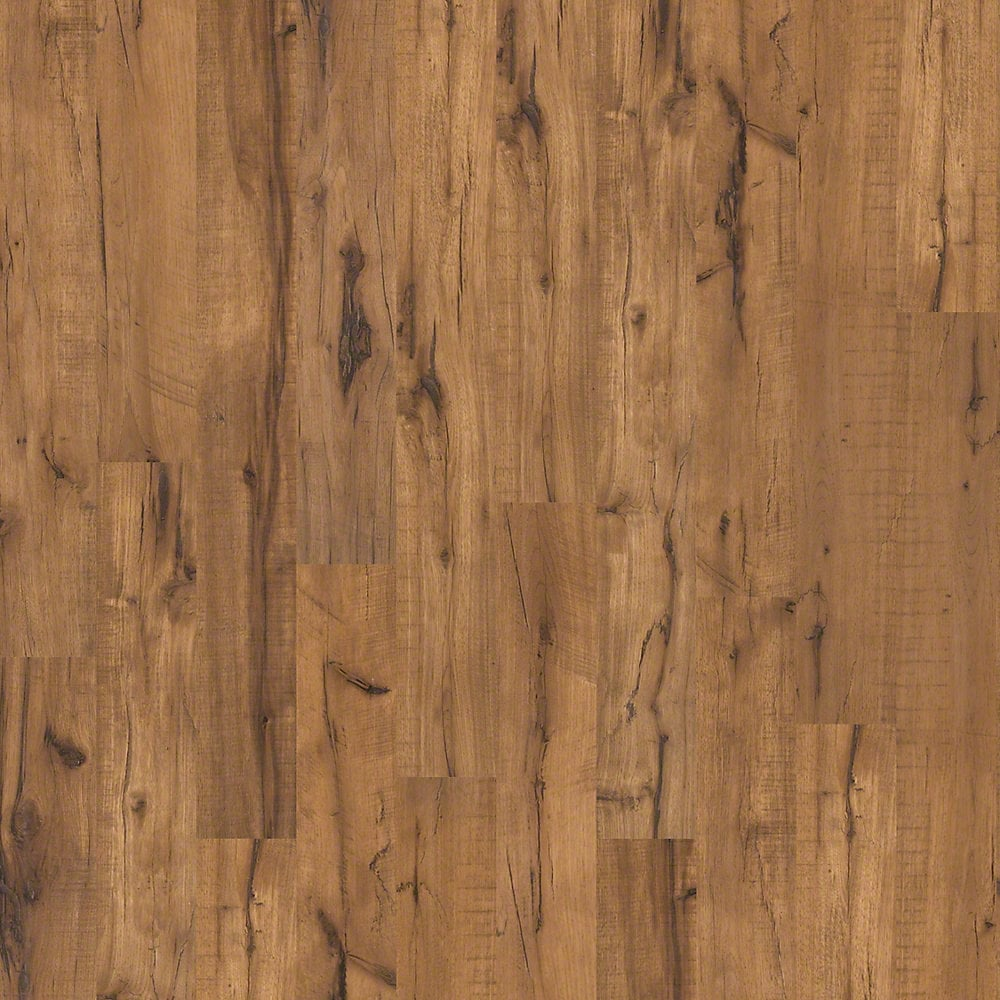 Shaw floors laminate flooring brookstone log cabin 12mm for Shaw laminate flooring