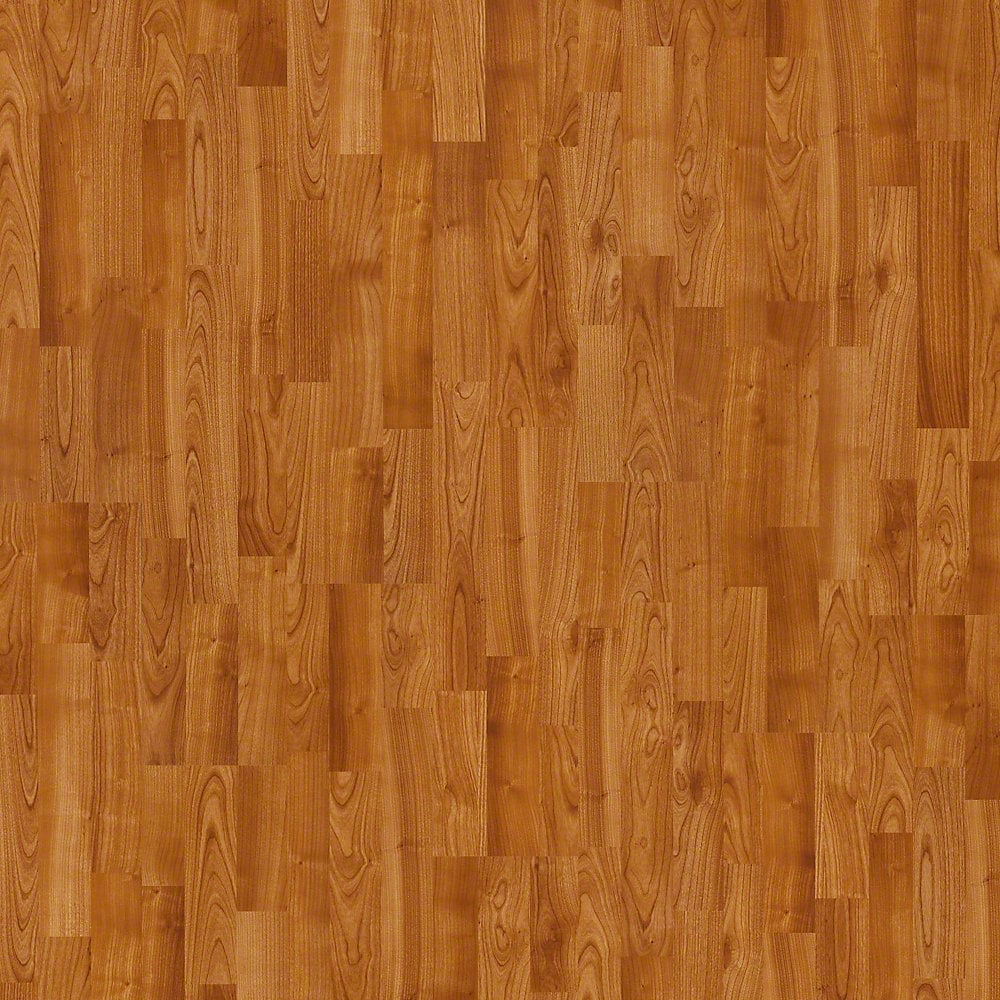 Shaw floors impressions laminate american cherry 8 enhanced for Cherry laminate flooring