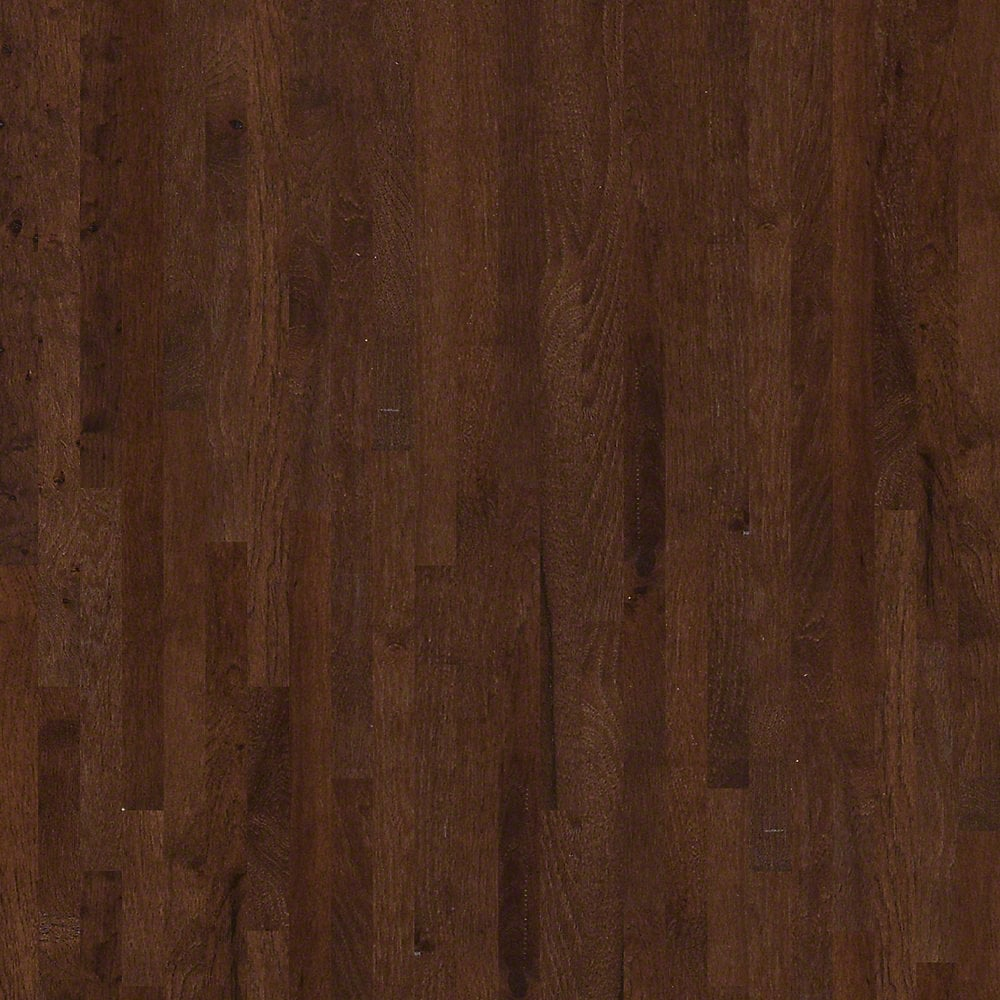 Shaw floors solid hardwood flooring rustic hickory for Unfinished hardwood flooring