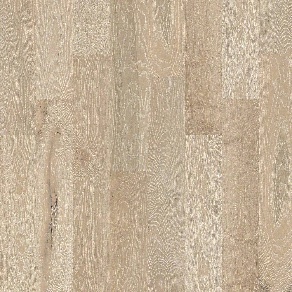 Shaw Floors Forest City Engineered Hardwood Mist White