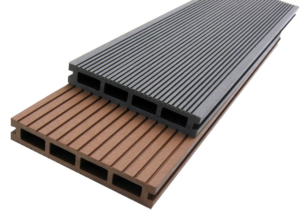 Decking Wood Polymer Composites : Ep decking wood plastic composite dark gray