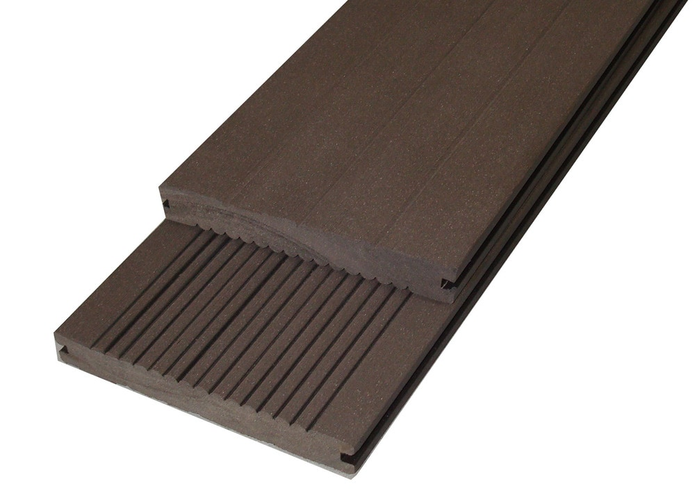 Ep Decking Ep Wood Plastic Composite Decking Mocha 5 1 2