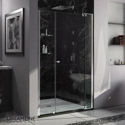 """DreamLine Allure 43 44"""" Frameless Pivot Shower Door Clear Glass Door Type 151370291 Shower Doors in Canada"""