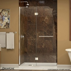 "DreamLine Aqua Frameless Hinged Door & SlimLine 34""x60"" Shower Base Type 151280531 Shower Enclosures in Canada"