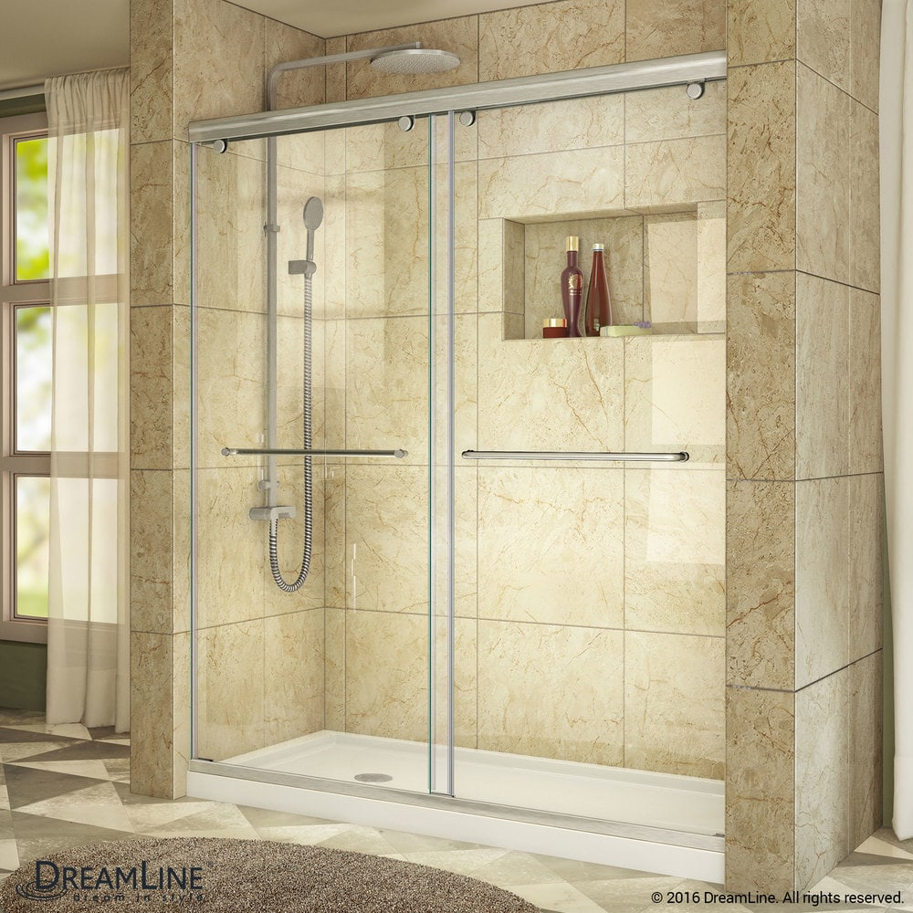 Dreamline Charisma Sliding Shower Door 56 60 Quot Wx76 Quot H