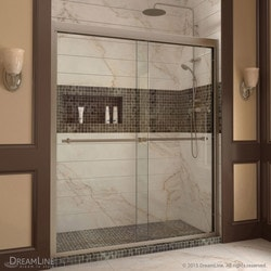 "DreamLine Duet Frameless Bypass Sliding Door & SlimLine 36""x60"" Shower Base Type 151279391 Shower Enclosures in Canada"