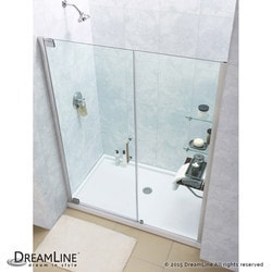 "DreamLine Elegance Frameless Pivot Door & SlimLine 36""x60"" Shower Base Type 151278801 Shower Enclosures in Canada"