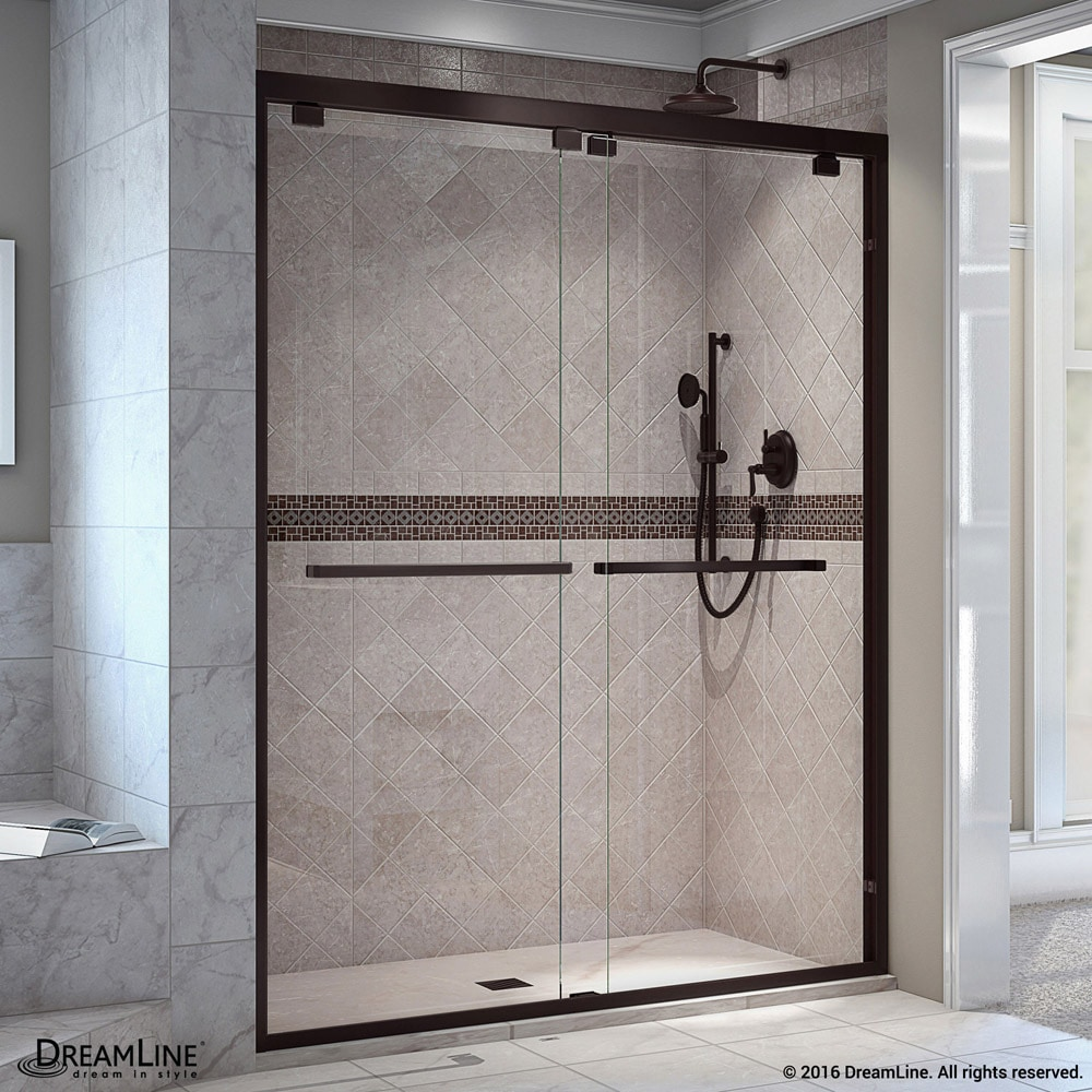 Dreamline Encore 44 48 Quot W X 76 Quot H Bypass Sliding Shower