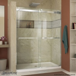 "DreamLine Essence 56 60"" Frameless Bypass Shower Door Type 151385981 Shower Doors in Canada"