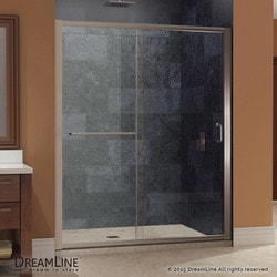 "DreamLine Infinity Z 56 60"" Frameless Sliding Shower Door Clear Type 151369471 Shower Doors in Canada"