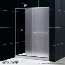 "DreamLine Infinity Z Frameless Sliding Door & SlimLine 34""x60"" Shower Base FR Type 151280001 Shower Enclosures in Canada"