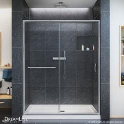 "DreamLine Infinity Z Frameless Sliding Door & SlimLine 36""x60"" Shower Base CL Type 151279781 Shower Enclosures in Canada"